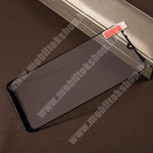 Xiaomi Redmi Note 7 RURIHAI előlap védő karcálló edzett üveg - FEKETE - 0,26mm, 9H, A teljes felületén tapad! - Xiaomi Redmi Note 7 / Xiaomi Redmi Note 7 Pro / Xiaomi Redmi Note 7S - A TELJES KIJELZŐT VÉDI! - GYÁRI