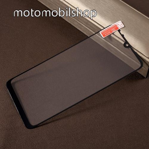 RURIHAI előlap védő karcálló edzett üveg - FEKETE - 0,26mm, 9H, A teljes felületén tapad! - Xiaomi Redmi Note 7 / Xiaomi Redmi Note 7 Pro / Xiaomi Redmi Note 7S - A TELJES KIJELZŐT VÉDI! - GYÁRI