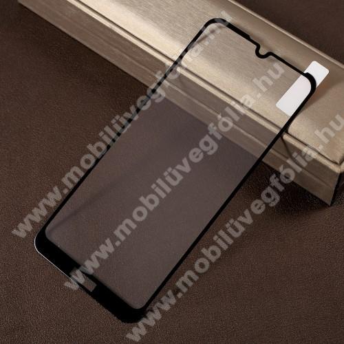 RURIHAI előlap védő karcálló edzett üveg - FEKETE - 0,26mm, 9H, A teljes felületén tapad! - HUAWEI Honor 8A - A TELJES KIJELZŐT VÉDI! - GYÁRI