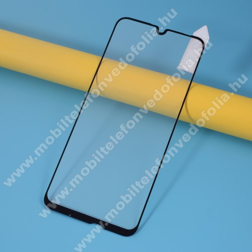 RURIHAI előlap védő karcálló edzett üveg, 0.26mm, 9H - FEKETE - A TELJES KIJELZŐT VÉDI! - HUAWEI P smart 2020 - GYÁRI
