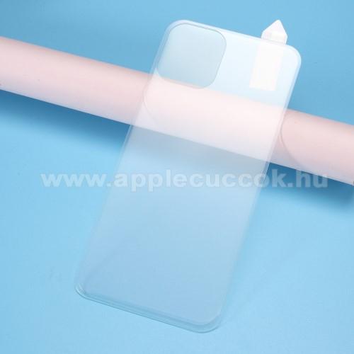 RURIHAI hátlap védő karcálló edzett üveg - 0,26 mm vékony, 9H, A TELJES HÁTLAPOT VÉDI! - ÁTLÁTSZÓ - APPLE iPhone 11 Pro - GYÁRI
