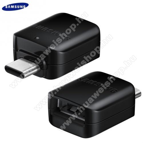 SAMSUNG adapter - USB / pendrive csatlakoztatásához, OTG - USB Type-C 3.0 / USB mama - EE-UN930BBEG - FEKETE - GYÁRI