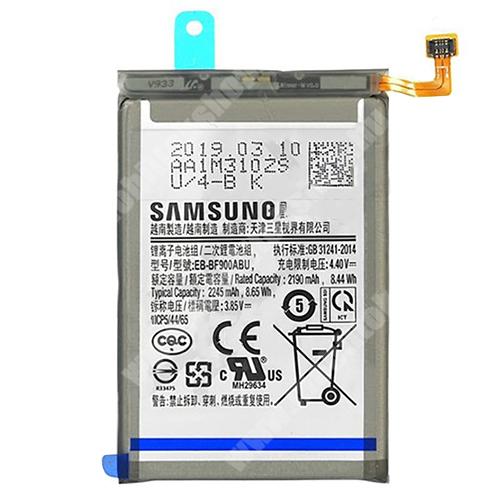SAMSUNG Akku 2190 mAh LI-Polymer (belső akku, beépítése szakértelmet igényel) - SAMSUNG Galaxy Fold (SM-F900F) - EB-BF900ABU / GH82-20134A - GYÁRI