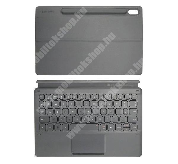 SAMSUNG BLUETOOTH billentyűzet - asztali tartó funkció, QWERTY, angol nyelvű - FEKETE - EF-DT860UJEGWW - SAMSUNG Galaxy Tab S6 SM-T860 (Wi-Fi) / SM-T8656 (LTE) - GYÁRI