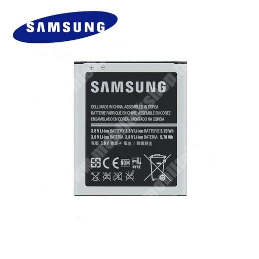 SAMSUNG EB-B100AEBE akku 1500 mAh LI-ION - LTE változathoz NEM jó! - SAMSUNG GT-S7270 Galaxy Ace 3 3G / SAMSUNG GT-S7272 Galaxy Ace 3 DUOS / SAMSUNG GT-S7390 Galaxy Trend Lite - GYÁRI - Csomagolás nélküli