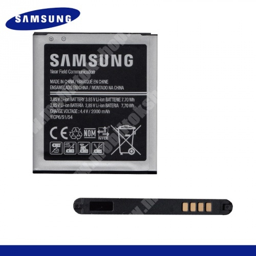 SAMSUNG EB-BG360BBE akku 2000 mAh LI-ION - SAMSUNG SM-G360F Galaxy Core Prime - GYÁRI - Csomagolás nélküli