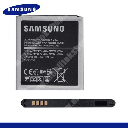 SAMSUNG EB-BG530CBE akku 2600 mAh LI-ION - SAMSUNG SM-G530F Galaxy Grand Prime - GYÁRI - Csomagolás nélküli