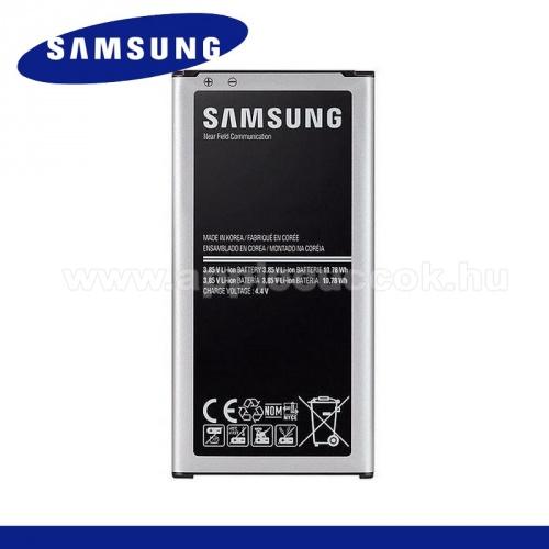SAMSUNG EB-BG800BBE/CBE akku 2100 mAh - NFC, csak LTE-s k�sz�l�khez! - SAMSUNG SM-G800 Galaxy S5 mini - GY�RI - Csomagol�s n�lk�li