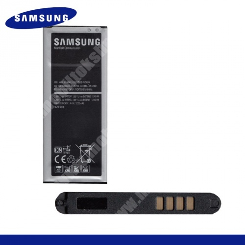 SAMSUNG EB-BN910BBEG akku 3220 mAh LI-ION - SAMSUNG SM-N910C Galaxy Note 4. - GYÁRI - Csomagolás nélküli
