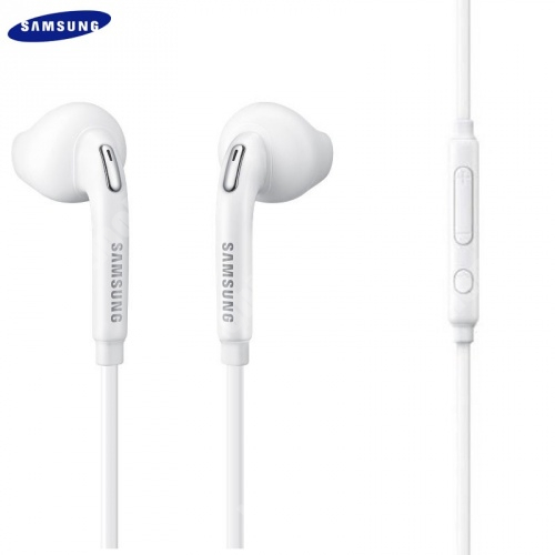 SAMSUNG GT-S5830 Galaxy Ace SAMSUNG EO-EG920BWEGWW SZTEREO HEADSET / JAMES BOND - 3,5 mm jack, felvevő gomb, hangerő szabályzó - FEHÉR - GYÁRI - Csomagolás nélküli