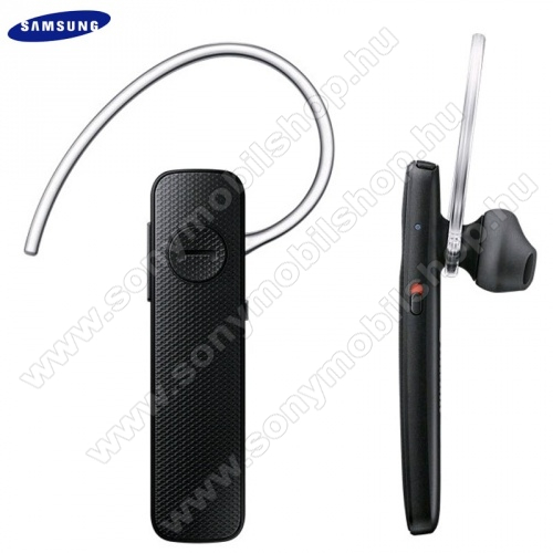 SAMSUNG EO-MG920BBEG BLUETOOTH HEADSET / james bond - FEKETE - v3.0, multipoint - GYÁRI