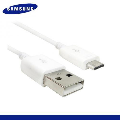 SAMSUNG EP-DG925UWE adatátvitel adatkábel - töltő funkcióval microUSB, 120 cm hosszú - FEHÉR - GYÁRI - Csomagolás nélküli