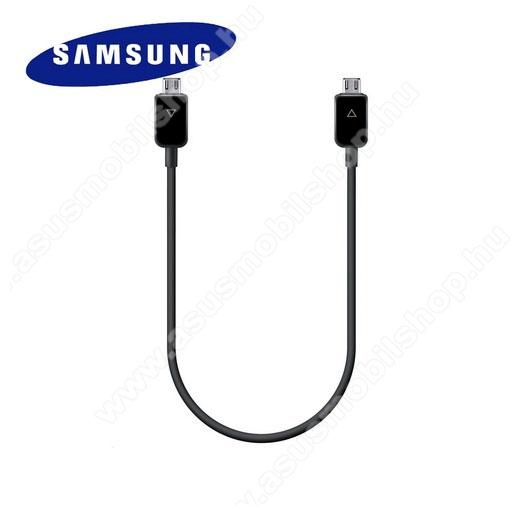 SAMSUNG EP-SG900UBEG adatátvitel adatkábel és töltő - microUSB, töltés megosztó funkció - FEKETE - GYÁRI