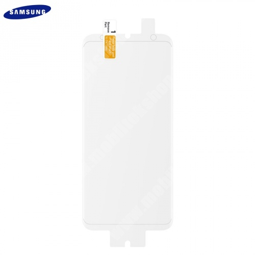 SAMSUNG ET-FG965CTEGWW TPU képernyővédő fólia - TELJES KIJELZÕRE!, 2 db - SAMSUNG SM-G965 Galaxy S9+ - GYÁRI
