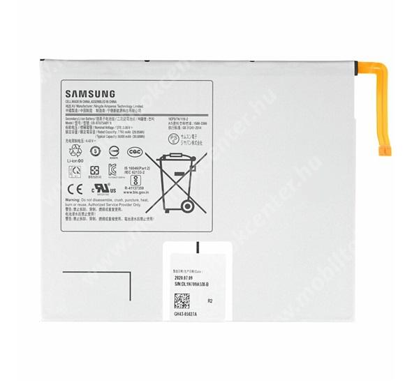 SAMSUNG Galaxy Tab S7 (SM-T870/T875/T876B) akku 8000 mAh LI-ION - belső akku, beépítése szakértelmet igényel - EB-BT875ABY / GH43-05028A - GYÁRI
