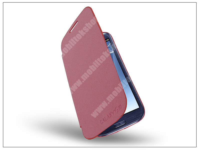 Samsung i9300 Galaxy S III flipes tok - EFC-1E1FBECSTD - pink