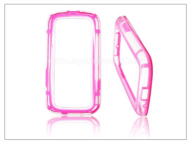 Samsung i9300 Galaxy S III v�d?keret - Bumper - pink/�tl�tsz�