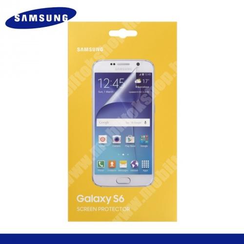 SAMSUNG képernyővédő fólia törlőkendővel - 2 db - ET-FG920CTEGWW - SAMSUNG SM-G920 Galaxy S6