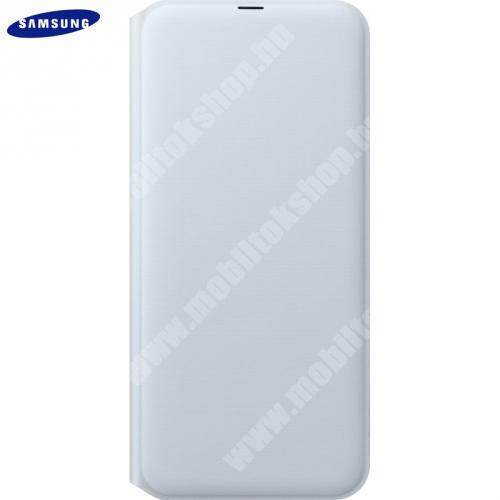 SAMSUNG notesz tok (aktív flip, oldalra nyíló, bankkártya tartó) - FEHÉR - EF-WA505PWEG - SAMSUNG SM-A307F Galaxy A30s / SAMSUNG SM-A505F Galaxy A50 / SAMSUNG Galaxy A50s - GYÁRI