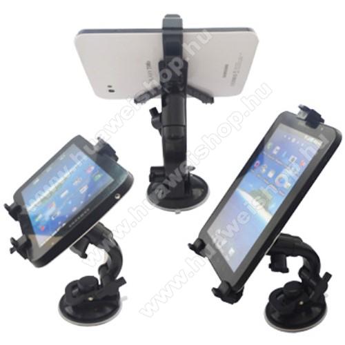 HUAWEI IDEOS S7 SlimSAMSUNG P1000 Galaxy Tab gépkocsi / autó tartó - BRANDO - (forgatható tapadókorongos szélvédőtartóval)