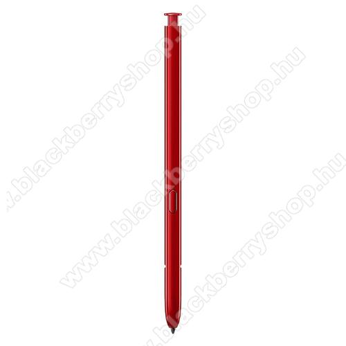SAMSUNG S Pen Érintőképernyő ceruza - PIROS - EJ-PN970BREGWW - SAMSUNG SM-N970F Galaxy Note10 - GYÁRI