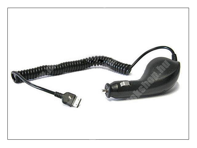 Samsung SGH-F210/M600/F330/G800/E210 gyári szivargyújtó töltő - CAD300SBE (csomagolás nélküli)