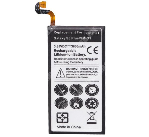 SAMSUNG SM-G955 Galaxy S8 Plus akkumulátor - 3800mAh Li-ION - belső akku, beépítése szakértelmet igényel! - EB-BG955ABA kompatibilis