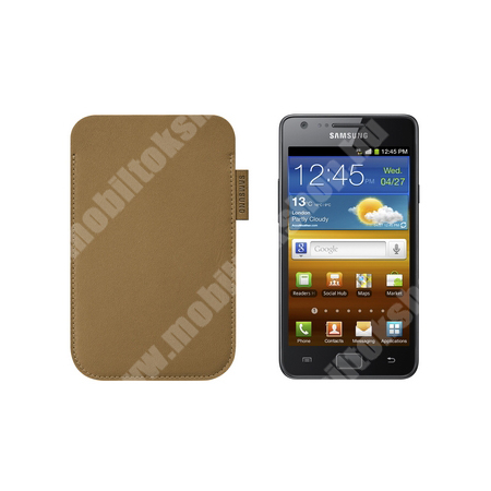 SAMSUNG tok álló, POUCH, KARAMELLABARNA - EF-C1A2P - SAMSUNG GT-I9100 Galaxy S II - GYÁRI