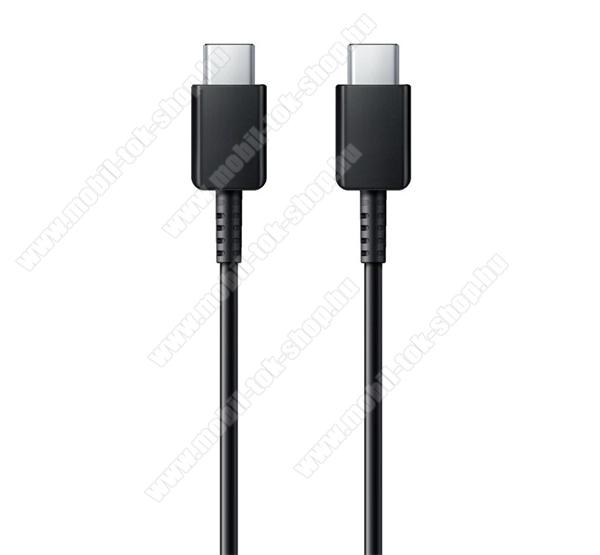 SAMSUNG USB Type-C - USB Type-C adat- és töltőkábel 1m-es vezetékkel - 5A, 100W - FEKETE - EP-DN975BBEG - GYÁRI