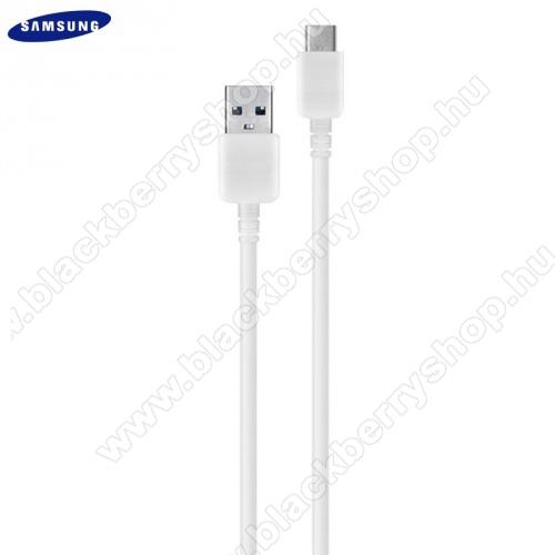SAMSUNG USB - USB Type-C adat- és töltőkábel 150 cm-es vezetékkel - EP-DW700CWE - FEHÉR - GYÁRI