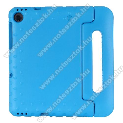 Lenovo Tab M10 Plus (TB-X606F)Shockproof műanyag védő tok / hátlap - VILÁGOSKÉK - hordozható, asztali tartó funkciós, ERŐS VÉDELEM! - Lenovo Tab M10 Plus (TB-X606F)