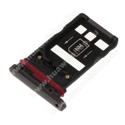 SIM kártya / Nano Memóriakártya tartó tálca - SZÜRKE - HUAWEI Mate 20 Pro - GYÁRI