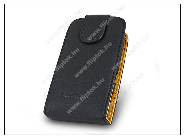 SLIGO flipes bőrtok - Sony Ericsson Xperia Mini - fekete