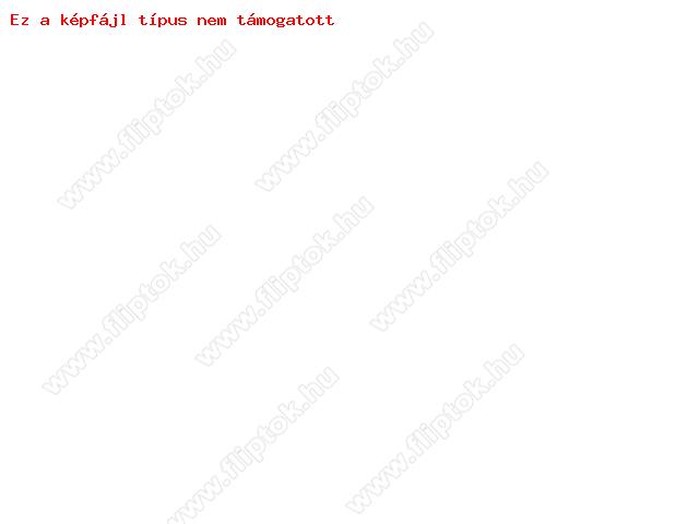 Slim Flip bőrtok - Samsung S5570 Galaxy Mini - fekete