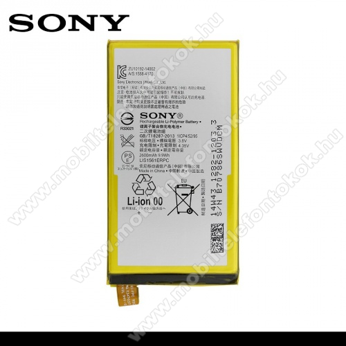SONY 1282-1203 akku 2600 mAh LI-ION - SONY Xperia Z3 Compact (D5803) - GYÁRI - Csomagolás nélküli