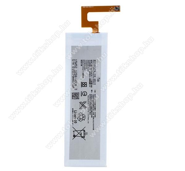 Sony 1294-4936 (Xperia M5) kompatibilis akkumulátor 2600mAh Li-ion, OEM jellegű, csomagolás nélkül