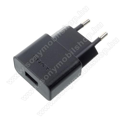 SONY UCH20 hálózati töltő USB aljzattal - 5V / 1500mAh - GYÁRI