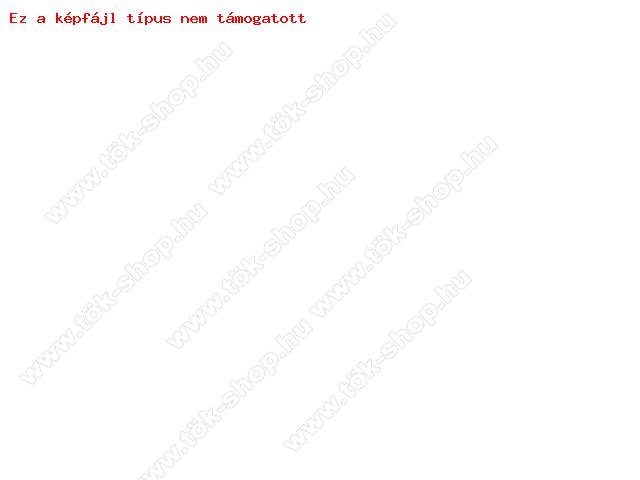 Sony Xperia M5 (E5603/E5606/E5653) S-View Flexi oldalra nyíló flipes tok - fekete