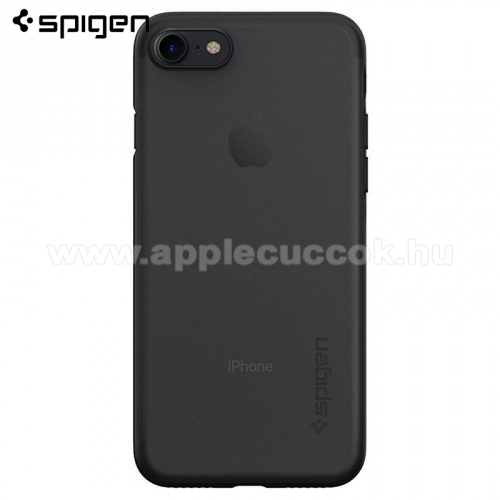 SPIGEN AIR SKIN műanyag védő tok / hátlap - ULTRAVÉKONY! 0,36mm - FEKETE - APPLE iPhone 7 / APPLE iPhone 8 - 042CS20869 - GYÁRI