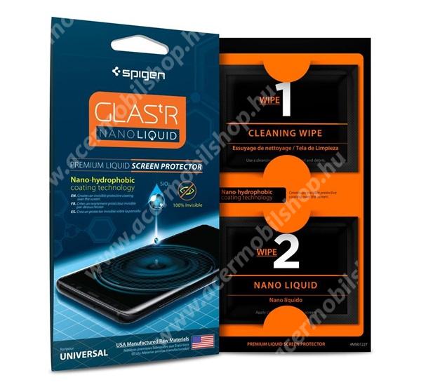 ACER Iconia Tab 8 A1-840FHD SPIGEN GLASTR NANO LIQUID képernyővédő FOLYÉKONY / KENHETŐ - nanotechnológia, karcálló, 9H, buborékmentes felület - 000GL21813 - GYÁRI