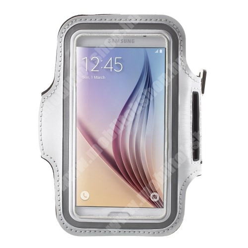 Elephone P3000 SPORT tok / karpánt - FEHÉR - SAMSUNG SM-G920 Galaxy S6 / SAMSUNG SM-G925F Galaxy S6 Edge - 145 x 75mm