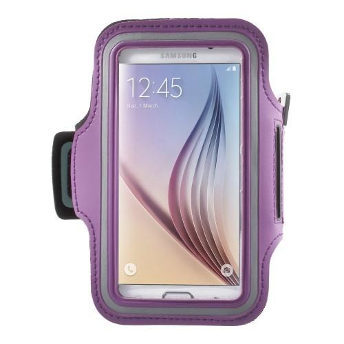 SPORT tok / karpánt - LILA - SAMSUNG SM-G920 Galaxy S6 / SAMSUNG SM-G925F Galaxy S6 Edge - 145 x 75mm