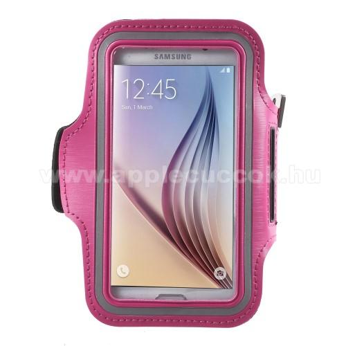 SPORT tok / karp�nt - MAGENTA - SAMSUNG SM-G920 Galaxy S6 / SAMSUNG SM-G925F Galaxy S6 Edge - 145 x 75mm
