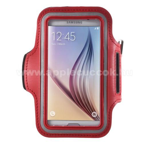 SPORT tok / karp�nt - PIROS - SAMSUNG SM-G920 Galaxy S6 / SAMSUNG SM-G925F Galaxy S6 Edge - 145 x 75mm