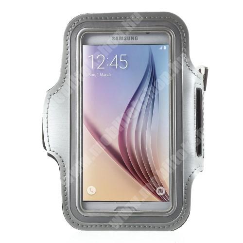 Elephone P3000 SPORT tok / karpánt - SZÜRKE - SAMSUNG SM-G920 Galaxy S6 / SAMSUNG SM-G925F Galaxy S6 Edge - 145 x 75mm