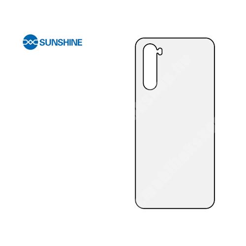 SUNSHINE Hydrogel TPU hátlapvédő fólia - 1db - OnePlus Nord - GYÁRI