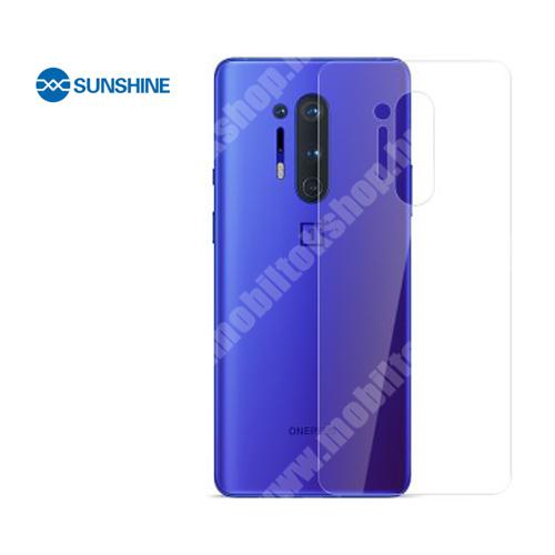 SUNSHINE Hydrogel TPU hátlapvédő fólia - 1db - OnePlus 8 Pro - GYÁRI