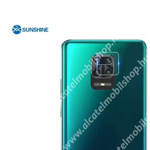SUNSHINE Hydrogel TPU kameravédő fólia - Ultra Clear - 1db - Xiaomi Redmi Note 9S / Xiaomi Redmi Note 9 Pro / Xiaomi Redmi Note 9 Pro Max - GYÁRI