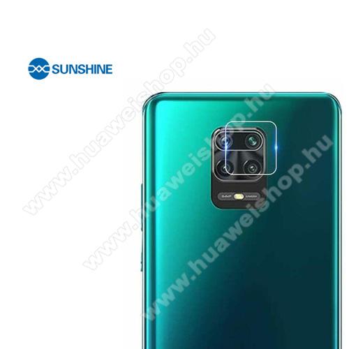 SUNSHINE Hydrogel TPU kameravédő fólia - Ultra Clear, ÖNREGENERÁLÓ! - 1db - Xiaomi Redmi Note 9S / Redmi Note 9 Pro / Redmi Note 9 Pro Max / Poco M2 Pro - GYÁRI