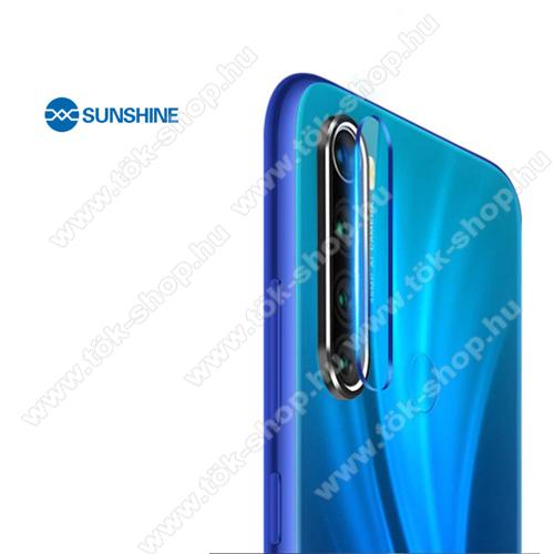 SUNSHINE Hydrogel TPU kameravédő fólia - Ultra Clear - 1db - Xiaomi Redmi Note 8 / Xiaomi Redmi Note 8T - GYÁRI